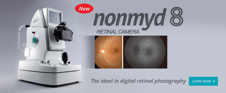 Nonmyd 8 Retinal Camera
